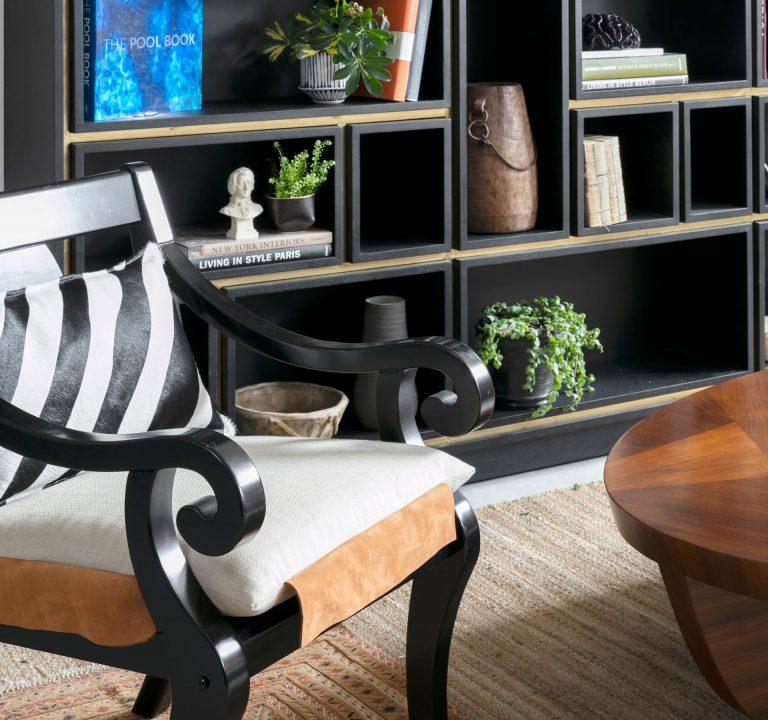 כורסא יוקרתית במראה עתיק ובעבודת יד