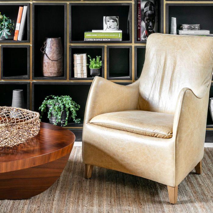 כורסא מעוצבת בעבודת יד