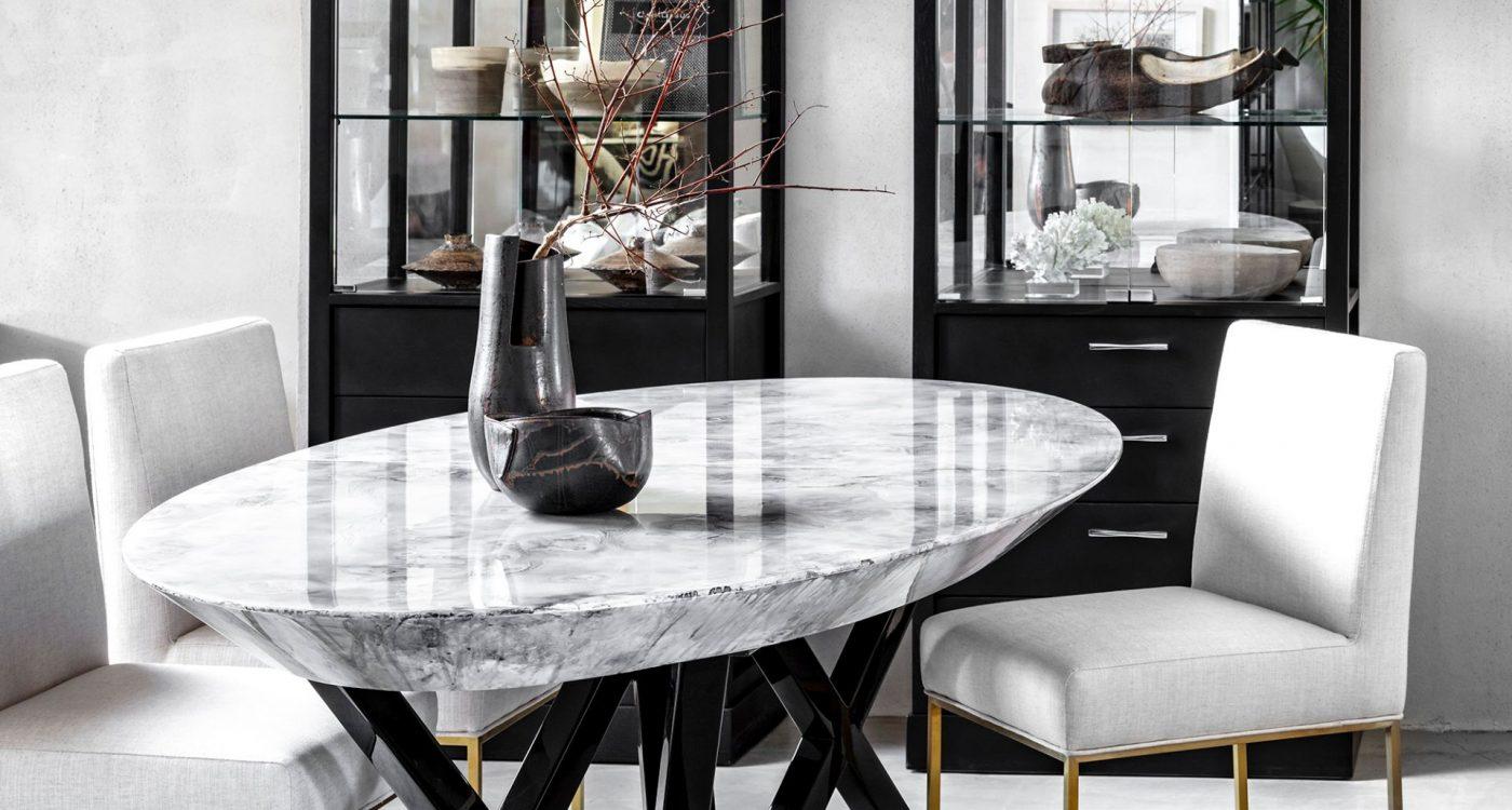 שולחן סלוני מעוצב בעבודת יד