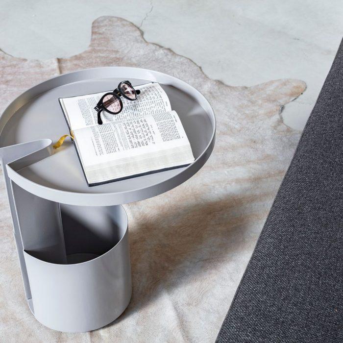 שולחן סלון מעוצב אפור