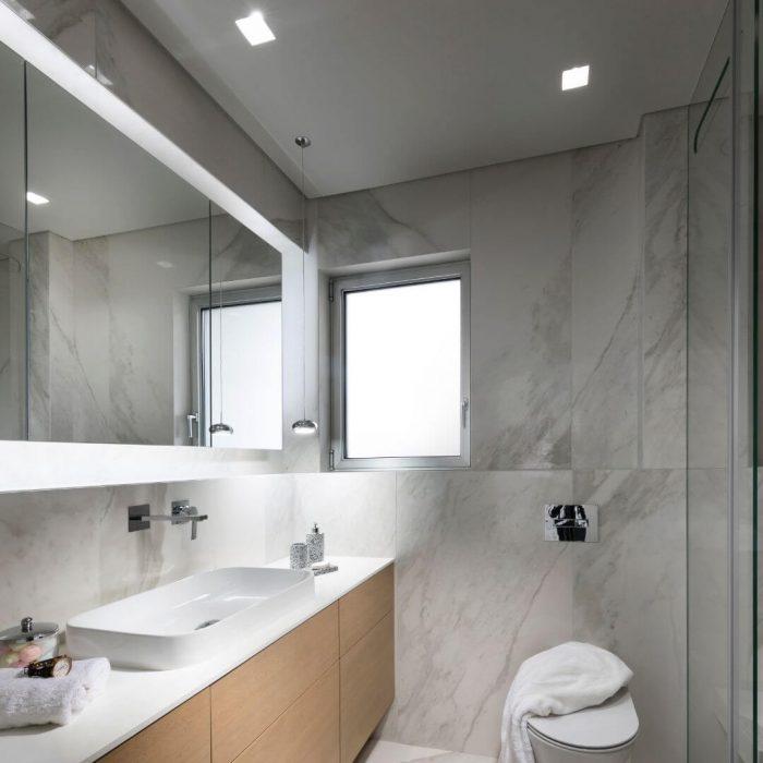 חדר אמבטיה מעוצב בהתאמה אישית