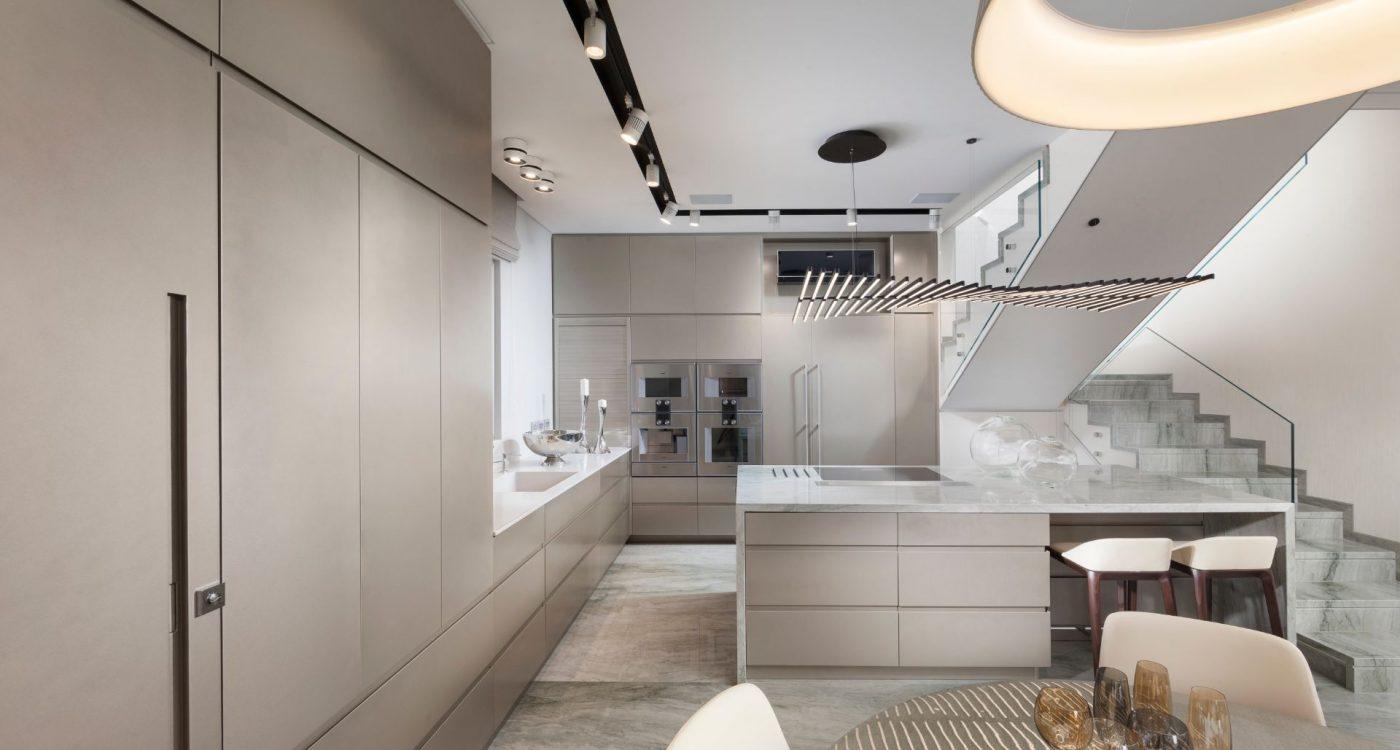 מטבח מודרני מעוצב בהתאמה אישית