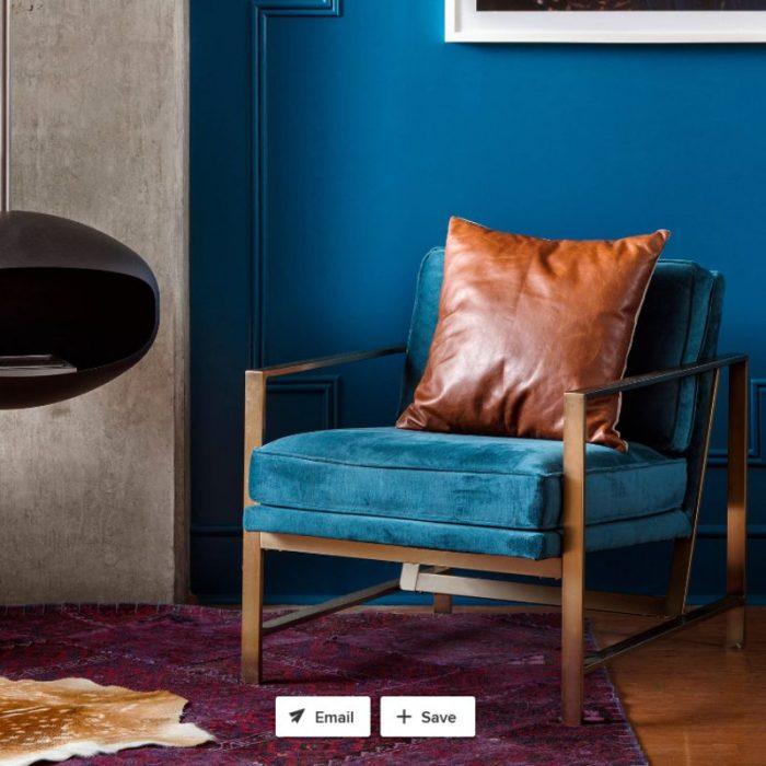 קמין אתנול מעוצב בצבע שחור תלוי מהתקרה